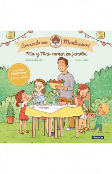 Mía y Max comen en familia (Creciendo...