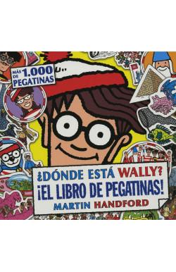 Donde Esta Wally?-Libro De Pegatinas