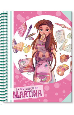 Libreta de La Diversión de Martina (rosa)