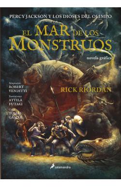 El mar de los monstruos (Percy Jackson y los dioses del Olimpo novela gráfica 2)