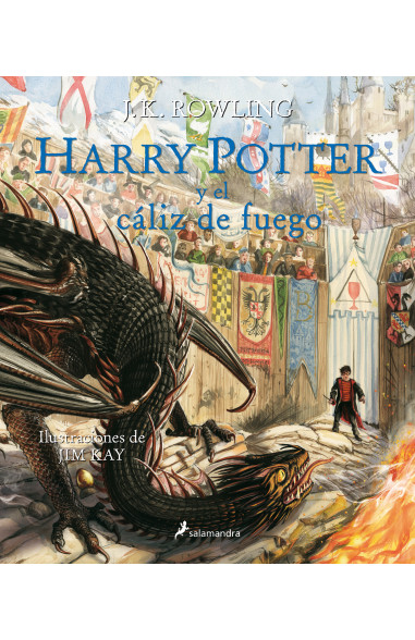 Harry Potter y el cáliz de fuego (Harry Potter edición ilustrada 4)
