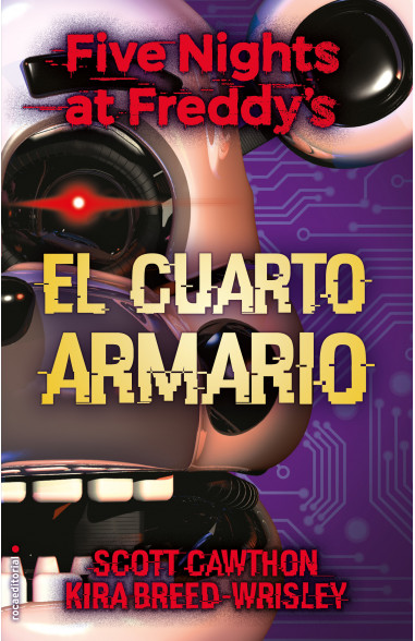 Five nights at Freddys 3. El cuarto armario